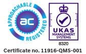ISO9001:2015 accredited engineering company